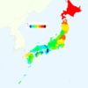 Smoking Rate by Prefecture in Japan, 2013
