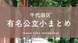 <千代田区>有名公立小学校 番町・九段・麹町まとめ
