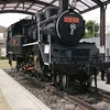 おりのなかの蒸気機関車 - あんじょうし総合運動公園に展示のC12-69
