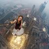【めまい注意】 高い場所が好きな女性の「高所ポートレート」は見ているだけで足がすくむ