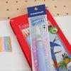 水彩色鉛筆と水筆ペンの使い方