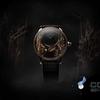 ジャークのドイツの羅愛のチョウの自動人形の腕時計