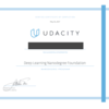 UdacityのDeep Learning Nanodegree Foundationを修了しました