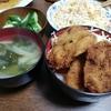 新潟名物タレカツ丼 を夕飯に作りました!