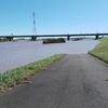 台風19号で荒川サイクリングロード水没 直後レポート 写真で通常時と比較
