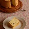 ラムレーズン低温焼きシフォンケーキに挑戦