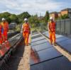 イギリスで世界初の太陽発電による鉄道建設