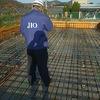 岡山市北区 平屋の家 新築工事 JIOによる配筋検査