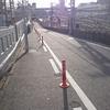 スラロームな通勤路で二輪教習を思い出す