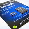 安くて人気のLexar製『microSDXCカード』を購入してみた。