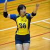 2015 関西大学秋季リーグ 饒平名彩選手、