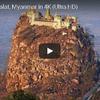 ミャンマー ポッパ山のタウンカラット寺院