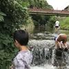 箕面の親水公園は子供の楽園やったで!