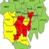 (新型コロナ:外出自粛!!)東京23区の感染マップを作成してみた