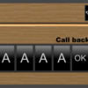 アルファベットのボタンを作る