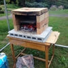 ピザ窯を作る
