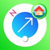 複数の場所の方向が画像でわかる、オフラインでも使えるコンパス地図アプリ「PICOM」大幅アップデート!