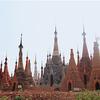 ミャンマー旅行記(12):インレー湖ボート観光 市場やインデインなど