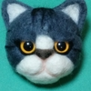 羊毛フェルトの猫~🎶