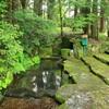 岐阜県の名水50選に指定!関市武儀地域の【お宮の清水】