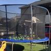 【子供にも大人にもおすすめ】大型の巨大トランポリンを自宅に設置してみた。効果と注意点あり。