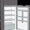 冷蔵庫の棚を断捨離