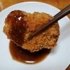 スーパーで買える北海道土産。ふらの厳選野菜ソースが美味!カキフライを作って頂きました