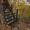 ツリーハウス階段