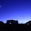 夕景と星空の美ヶ原高原