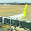 ジンエアー ( Jin Air) 搭乗記 ! 成田 ー 仁川 ターミナル、座席、手荷物の規定
