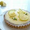 夏に食べたい爽やかなケーキ(o≧▽゜)o  レモンクリームとレアチーズケーキのたっぷりタルト♪