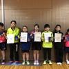 【 試合結果 】第27回宮城県小学生卓球選手権大会(ホープス・カブ・バンビの部)