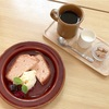 しっとり濃厚!桜と酒かすのパウンドケーキ(cafe OMNIBUS @馬車道)