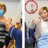 アイルランドで最初にワクチンの接種を受けたのはアニー・リンチさん(79)