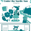 Traveling Reindeer Under the Nordic Sun #1