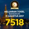 Keluaran Togel Bangkok Kamis 31 Agustus 2017