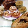 パタート、よもぎあんパン、バナナの食パンなど、パン教室でストレス解消