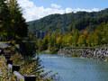 秋の始まりに豊平川・真駒内川沿いをサイクリング