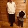 小さな幸せを積み重ねていく。子どもがかわいい服を着ていると嬉しい。