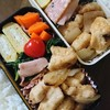鶏むね肉のめんつゆマヨ炒め弁当