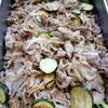 豚肉とズッキーニの新生姜炒め