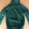 野口智子さん「わたしのセーター」から丸ヨークのつぶつぶセーターを編んでいます その3