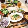 3/12の晩ご飯(じゃがいもと鶏モモのにんにく甘辛炒め ししとうとエリンギの中華炒め)レシピあり