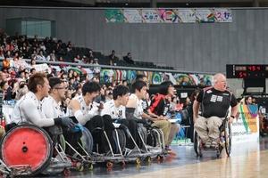 【パラスポーツ】車いすラグビー=ワールドチャレンジ大会4日目 日本が世界1位・豪州戦で1点差惜敗