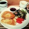 【PAPER WALL CAFE】パンケーキプレートで国立モーニング!