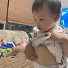 1歳1ヶ月と10日 ヘソ発見
