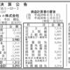 名刺管理ソフトのSansan株式会社 第11期決算公告 / 資本金減額公告