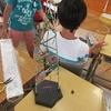 5年生:図工 立ち上がれマイライン完成へ