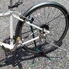 楽勝で自転車のタイヤ交換できました