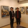 蝦名クラスの生徒さん、梶原清子さんと鎮西和子さんの「喜寿・ふたり展」